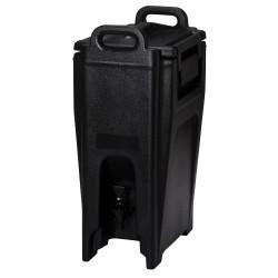Drankcontainer 19,9 liter zwart Cambro