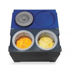 Gelato Coolbox Tubs Antraciet