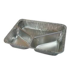 Aluminium 3-vak schaal