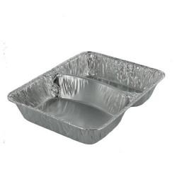 Aluminium 2-vak schaal (ds.1.000 st)