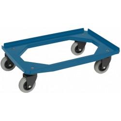 Dollie Mover rubberen wiel | blauw