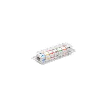 Dispenser Vol. Oplosbare stickers 'Zondag' 7x500/doos