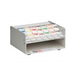 Muurdispenser Metaal voor 19/25 mm stickers