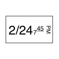 Stickerrol 1-lijnspist. Diepvries 1000/rol