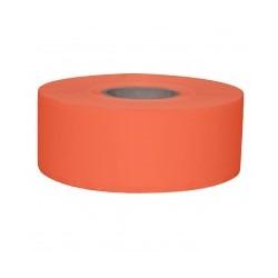 Stickerrol 2-lijnspist. Vol. Oplosb. Oranje 750/rol
