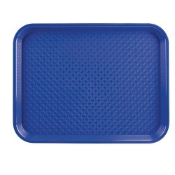 Dienblad blauw 34,5 x 26,5cm