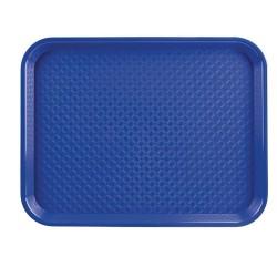 Dienblad blauw 35x45cm