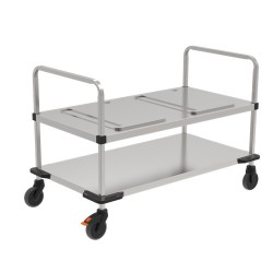 Rieber trolley voor 2 Thermoports