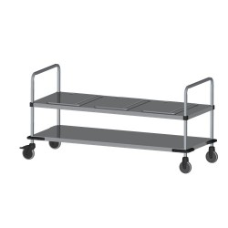 Rieber trolley voor 3 Thermoports
