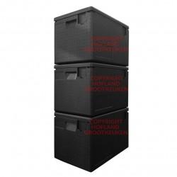 3 x cateringbox 1/1 GN - 33 cm