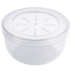 Kunststof Herbruikbaar Soepbakje PP wit 400 ml (12 st)