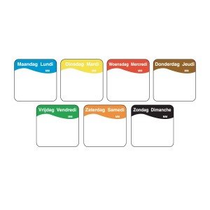 Volledig Oplosbare Stickers